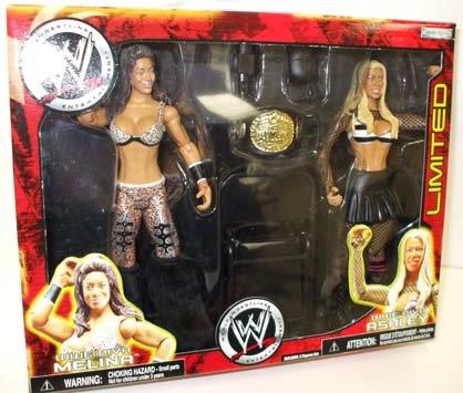WWE Wrestling Exclusive Action Figure 2-Pack Wrestlemania 23 Ashley Vs. Melina (Big Show Vs Stone Cold Steve Austin)