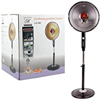 Electric Tall Stand Parabolic Oscillating Radiant Space Heater W/Timer Home office