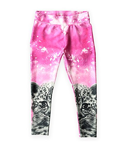 Justice Girls Photoreal Kitty Base Layer Athletic Pants 646 5x15