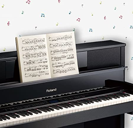 Colorful Musical Notes Wallpaper Roll Amazoncouk Kitchen Home