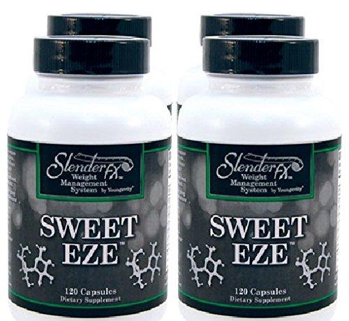 (4 Pack - Slender Fx Sweet Eze - 120 Capsules)