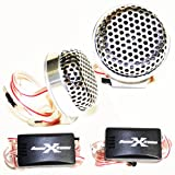 SoundXtreme TW120 Tweeters 400W Max Power w/ Crossovers