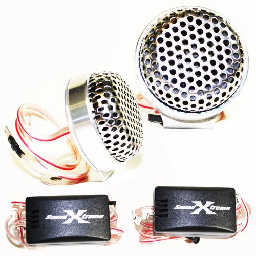 SoundXtreme TW120 Tweeters 400W Max Power w/Crossovers