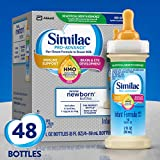 Similac Pro-Advance Infant Formula with 2'-FL Human Milk Oligosaccharide (HMO) for Immune Support, Ready to Drink Bottles, 2 fl oz (48 Count)
