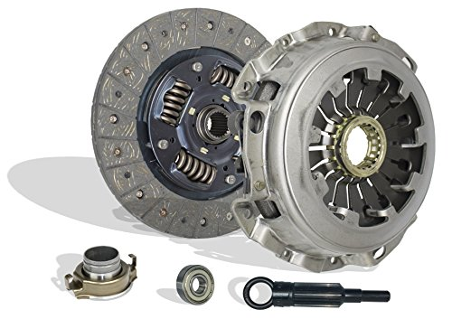 Clutch Kit Works With Subaru Impreza Baja Forester 9-2X Turbo Xt Aero WRX Crew Cab Limited Wagon Sedan 2.0L 2.5L H4 GAS DOHC - Impreza Wrx Turbo Subaru