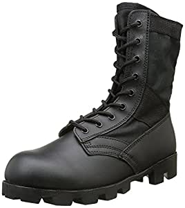 Amazon.com: Mil-Tec US Jungle Combat Boots Black size 11