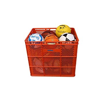 Softee 24109.007 Carro Porta balones Banasta, Naranja, S: Amazon ...