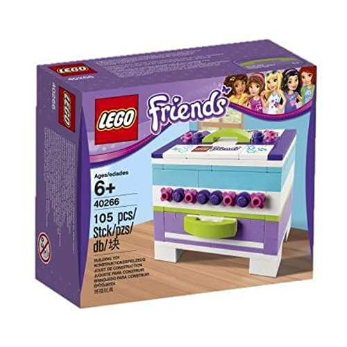 LEGO Friends 40266 Storage Box Building Kit (105 Piece) (Brick Storage Lego Friends)