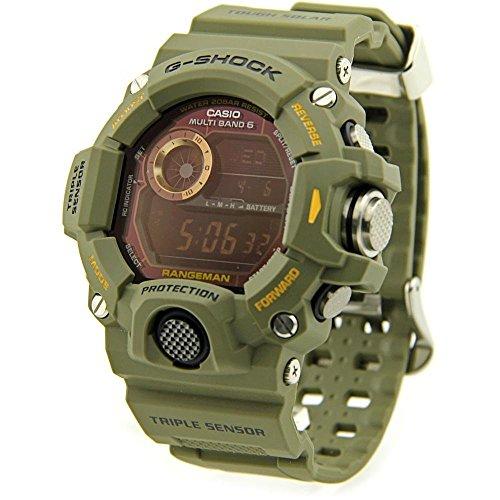 Men's Casio G-Shock RANGEMAN Master of G Series Green Resin Band Digital Watch