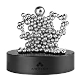 Magnet Desk Decor with A Magnet Base,SPOLEY Magnetic Sculpture Desk Toys for Intelligence