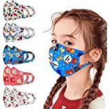 10 PCS Kids Dust Face Covering Breathable Reusable for Outdoor Earloop Face Macks Cover Cotton Face Health Protections