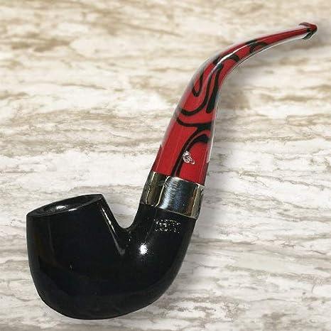 Peterson Dracula 221 Ebony Fishtail Smoking Pipe