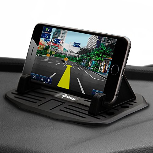 Second-GenerationIPOW-Car-Silicone-Pad-Dash-Mat-Cell-Phone-Mount-Holder-Cradle-Dock-For-Smartphones-Table-PC