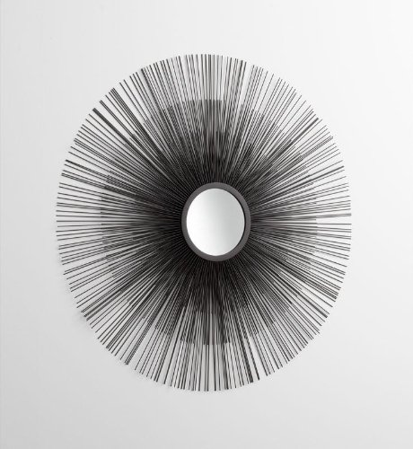 Decorative Double Solar Flare Mirror 05831 by Cyan Designs