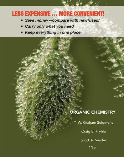 Organic Chemistry 11e Binder Ready Version + WileyPLUS Registration Card