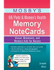 Mosby's OB/Peds and Women's Health Memory NoteCards: Visual, Mnemonic, and Memory Aids for Nurses