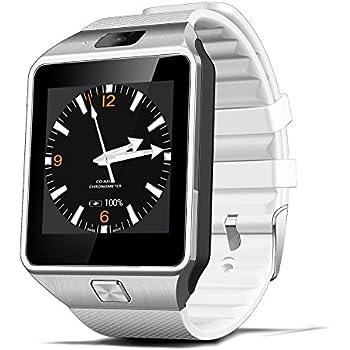 Reloj Inteligente DEPORTIVO CON CAMARA PARA IPHONE Y ANDROID DIGITAL DE MUJER Y HOMBRE UNISEX ACCESORIOS PARA CELULARES RE0108 WHITE