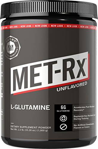Met-Rx L-Glutamine Powder, 14 oz