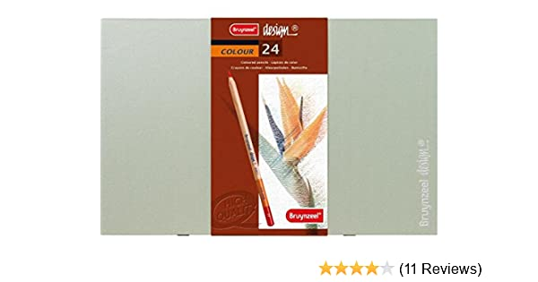 Bruynzeel Design Artist Box of 12 High Quality Colouring Pencils