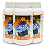 Bill Natural Sources Seal Oil OMEGA 3 (3 Bottles)