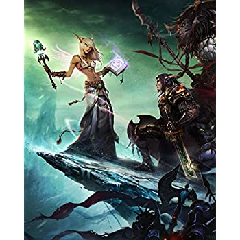 World of Warcraft WOW Blood Elf 2 Wall Poster Print Art Decoration 16x20  Inches