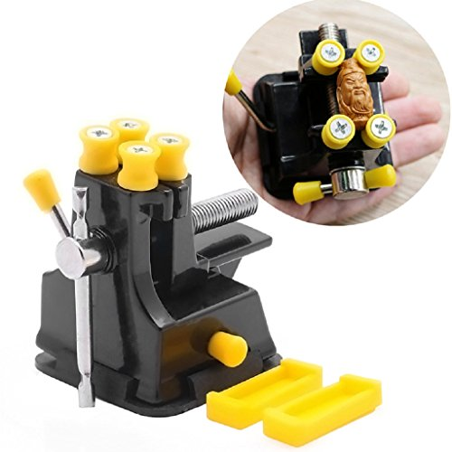 SCASTOE DIY Jewelries Craft Mould Fixed Repair Hand Tool Mini Vice Suction Grip - Clamping Vise