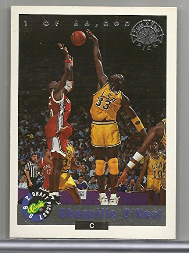 1992 Classic Draft Picks Basketball Shaquille O'Neal Card # LP1