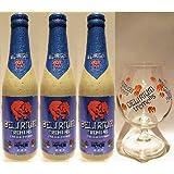【ベルギービール】デリリウム・トレメンス 330ml×3本、330ml専用グラス1個セット