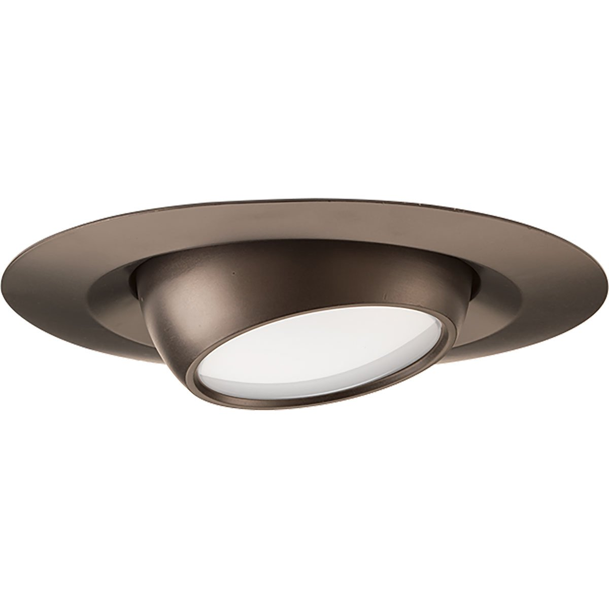 Progress Lighting P8046-20-30K Led Recessed 4-Inch LED Eyeball Trim, Antique Bronze