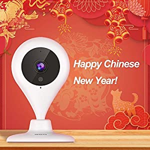 360 Home Security Camera IP Wireless Camera Surveillance System with Motion Detection Night Vision by 360 WWW.360.CN