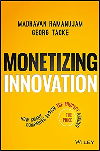 monetizing innovation business books 2016