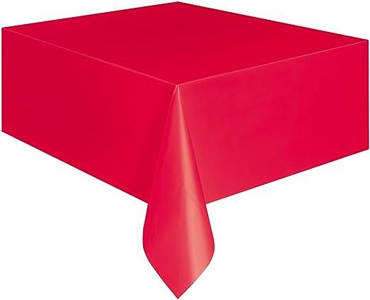 108 x 54 Light Pink Plastic Tablecloths 2ct