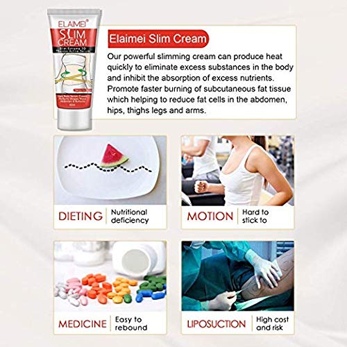 Cellulite Removal Cream Pure Body Naturals Slim Cream Fat Burn