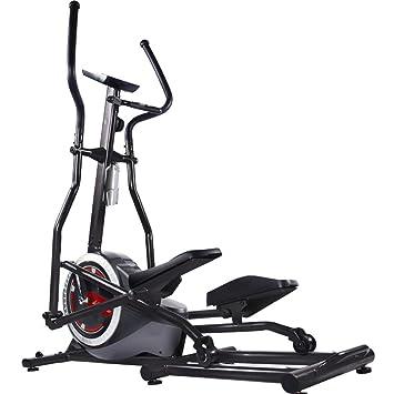 YXRPK Bicicleta Elíptica Magnética Cross Trainer, Volante ...