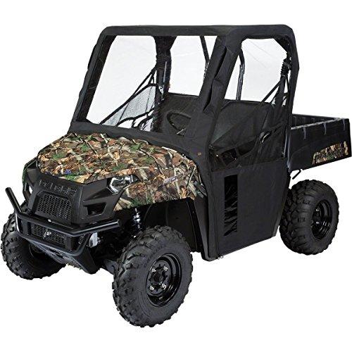 Cabin Enclosure Black Atv (Classic Accessories 18-117-010401-0 UTV Cabin Enclosure (Ranger Mid Black))