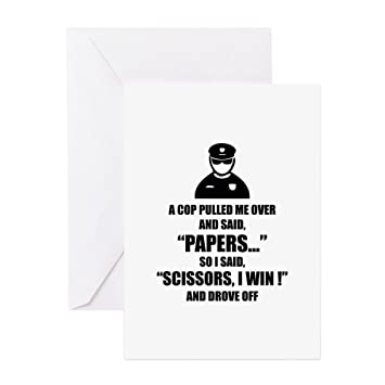 Amazon cafepress a cop pulled me over greeting card greeting card note card m4hsunfo