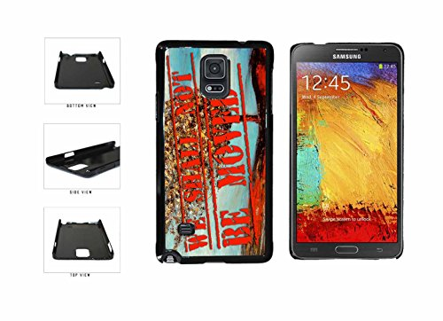 Historical We Shall Not Be Moved Plastic Phone Case Back Cover Samsung Galaxy Note IV 4 N910