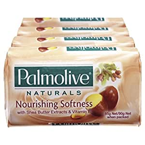 Palmolive Naturals Nourishing Softness Bar Soap Shea Butter 4 x 90g
