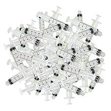 100pcs 5ml Dispensing Luer Lock Tip Syringes Barrels No Needle Adhesive Glue Ink