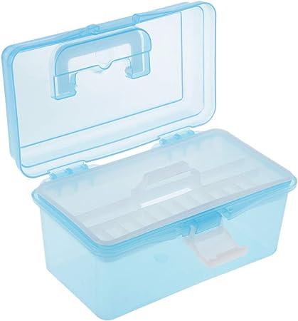 Hellery Contenedores Portátiles De Mano Multiusos De Plástico Organizador De Almacenamiento Caja De Herramientas - L, Individual: Amazon.es: Hogar
