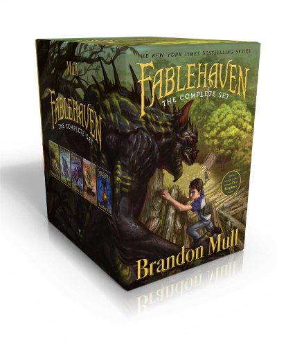 Fablehaven Complete Set (Boxed Set): Fablehaven; Rise of the Evening Star; Grip of the Shadow Plague; Secrets of the Dragon Sanctuary; Keys to the Demon Prison [Brandon Mull] (Tapa Blanda)