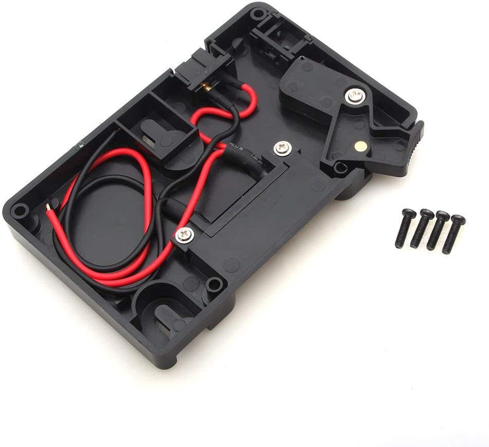 Foto4easy Anton Bauer Gold A Mount Battery Power Supply Plate Adapter D-Tap for Panasonic DSLR Camera Camcorder