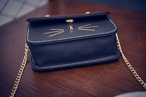 tracolla selvatico estate bag black mini borsa a borsetta square gatto messenger grigio donna chiaro Nuova borsa xIzHqq