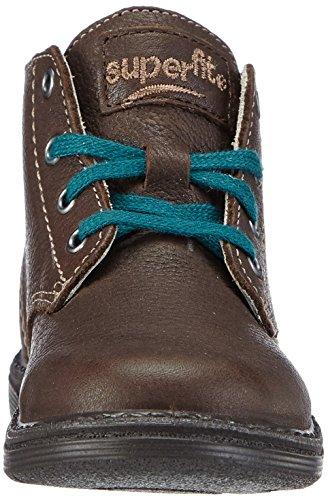 Superfit SOFTBUBBLE - zapatillas de running de cuero Bebé-Niñas marrón - Braun (CIOK KOMBI 11)