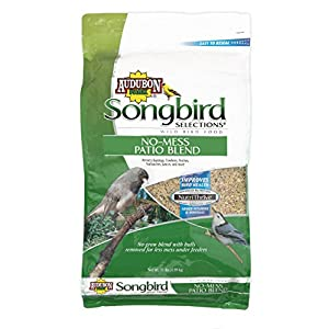 Songbird Selections 11986 No-Mess Patio Blend Wild Bird Food, 11-Pound 53