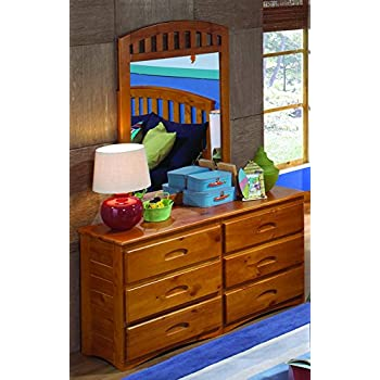 american furniture classics 2150dm six drawer dresser with mirror kitchen dining. Black Bedroom Furniture Sets. Home Design Ideas