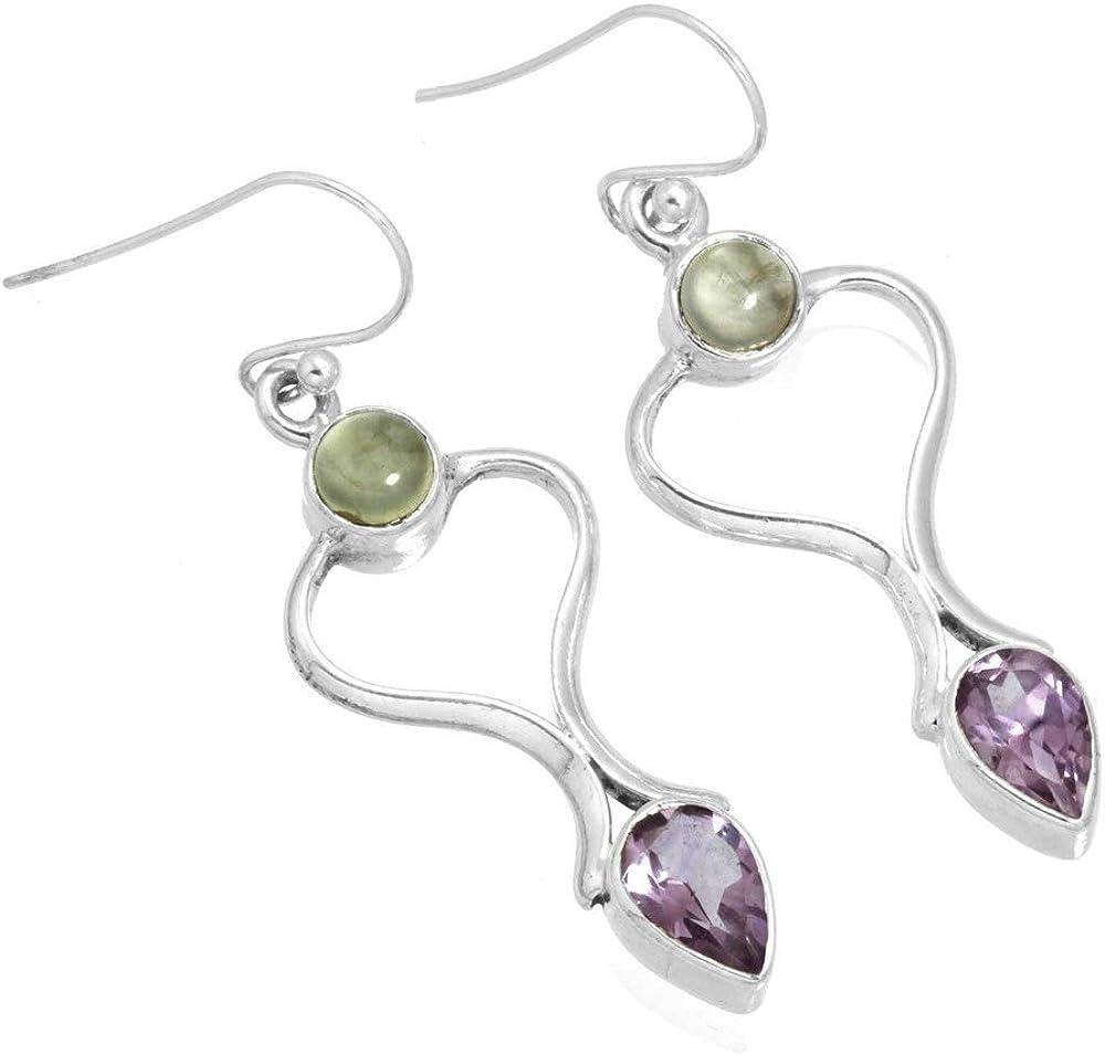 Amethyst Gemstone Earring