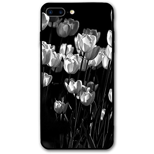 5.5Inch Iphone 8 Plus Case Tulips Anti-Scratch Shock Proof Hard PC Protective Case Cover