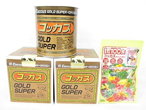 コッカスゴールドスーパー2缶+「1粒100食コッカス」1袋付セット B0155Q1HSW