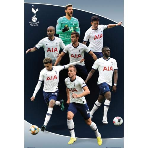 GB Eye Ltd Tottenham - 2019-20 Players Collage Poster (24 x 36 inches)